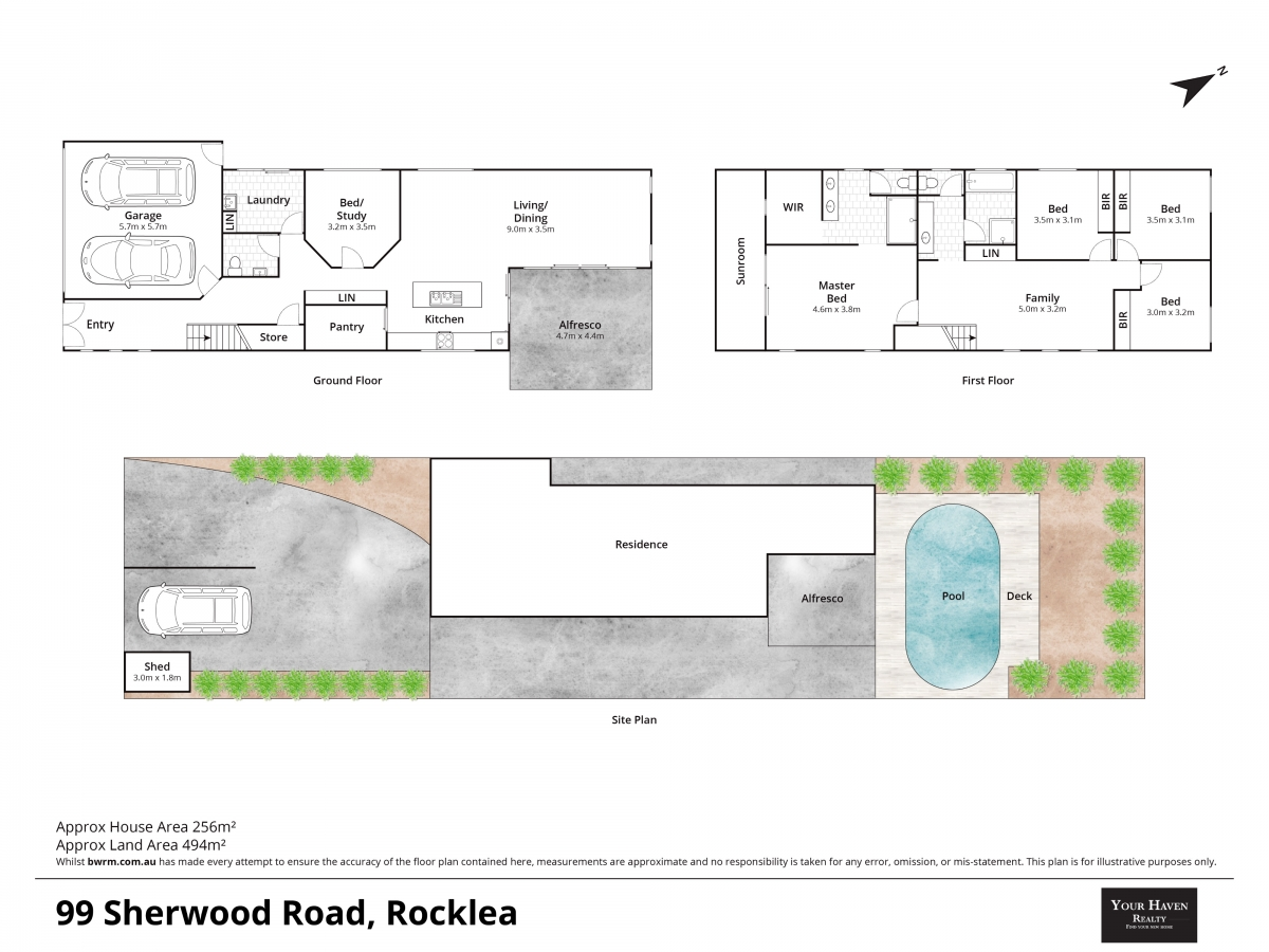 Floor plan 99 Sherwood Rd, Rocklea