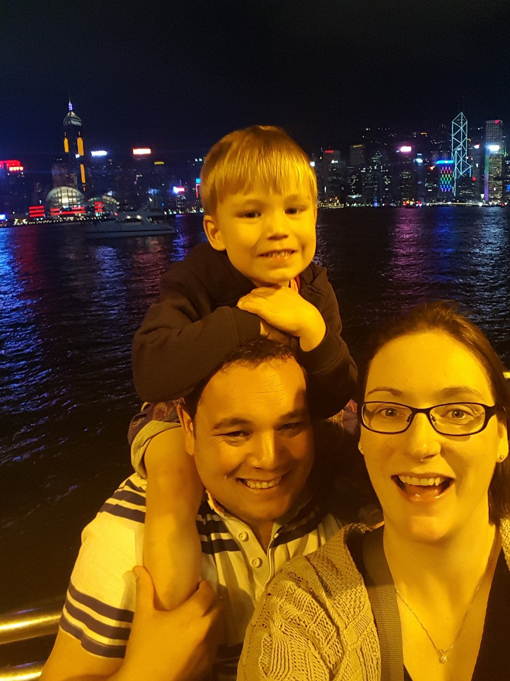 Victoria Harbour - A Symphony of Lights