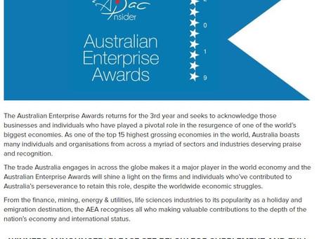 We're officially an award winning agency!