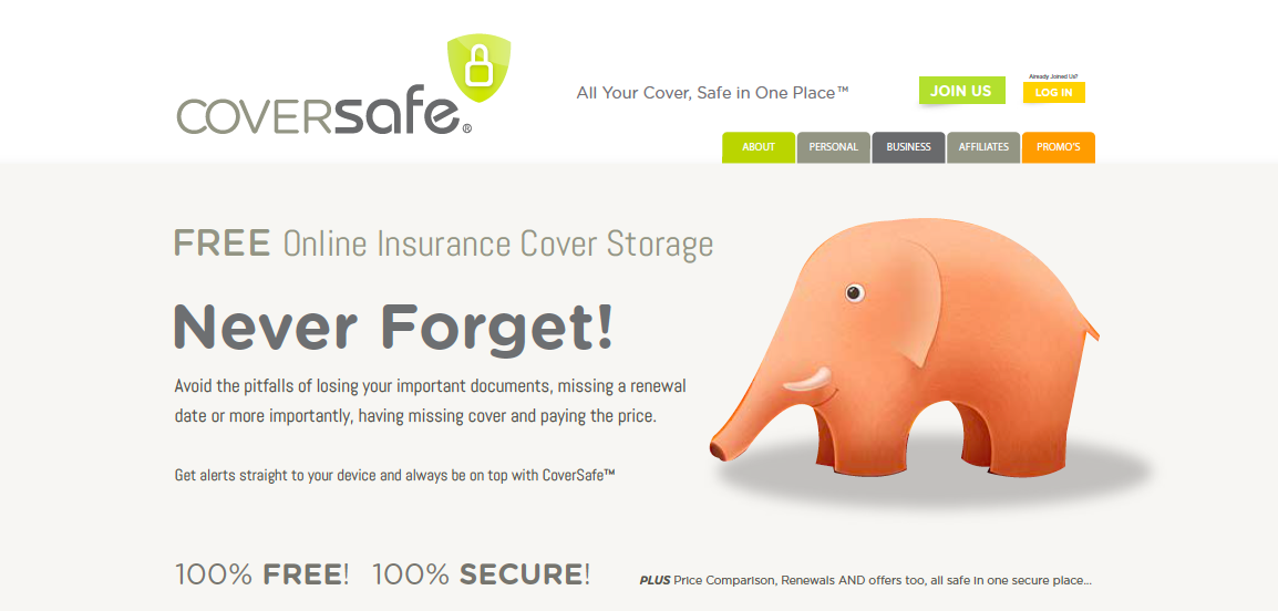 Insurance documents in the cloud