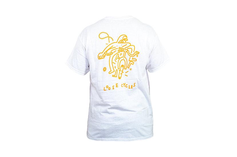 LOOSE t-shirt - white