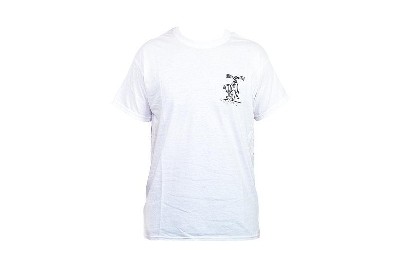 SMOKED t-shirt - white