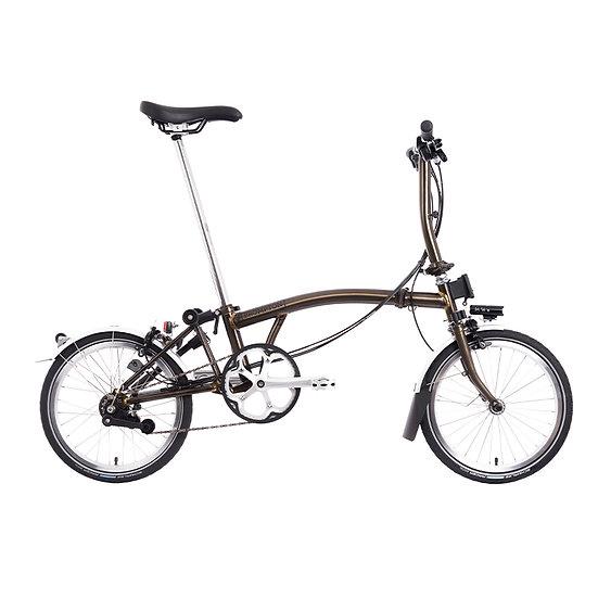 Brompton M6R folding bike - 2021 Black Laquer