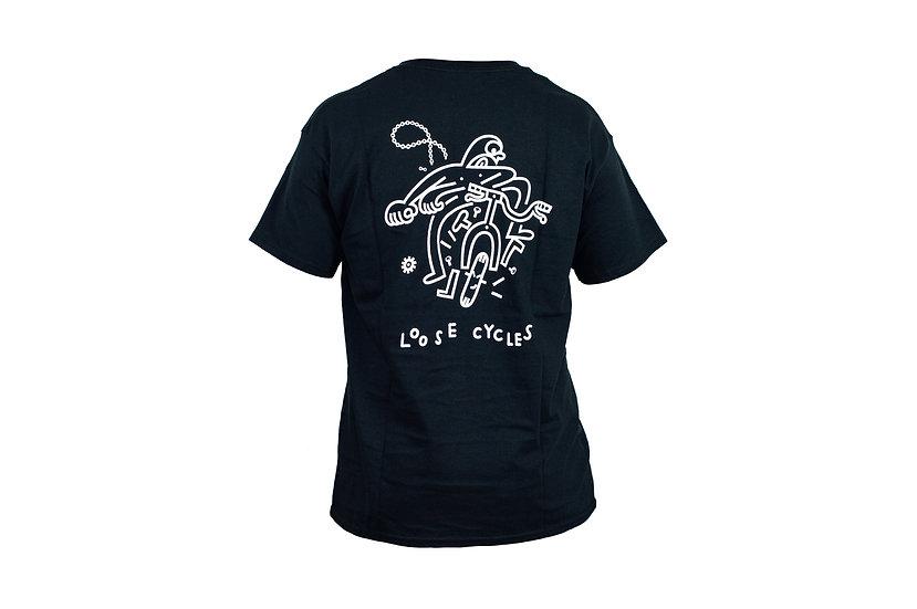 LOOSE t-shirt - black