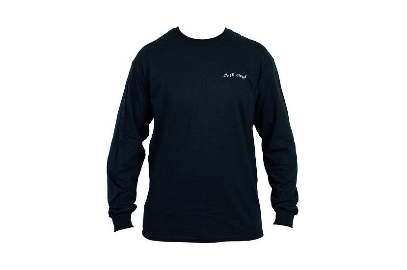 LOOSE long sleeve - black