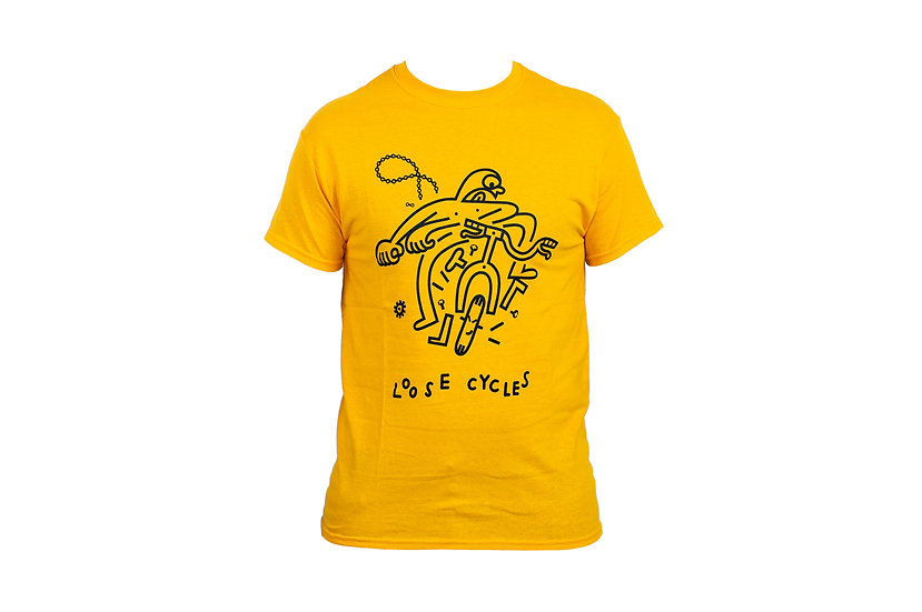 OH SHIT t-shirt - yellow