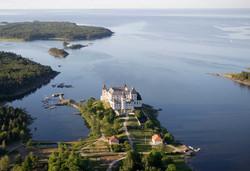 Het läckö kasteel in zweden