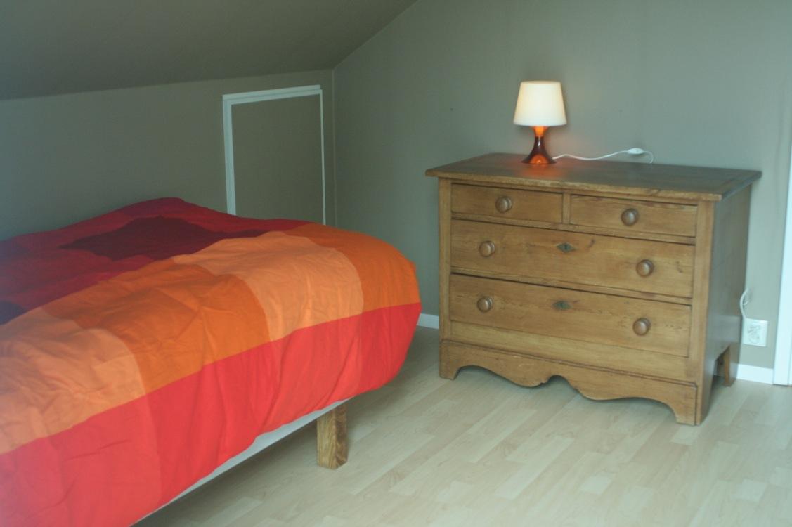 slaapkamer vakantiehuis in zweden
