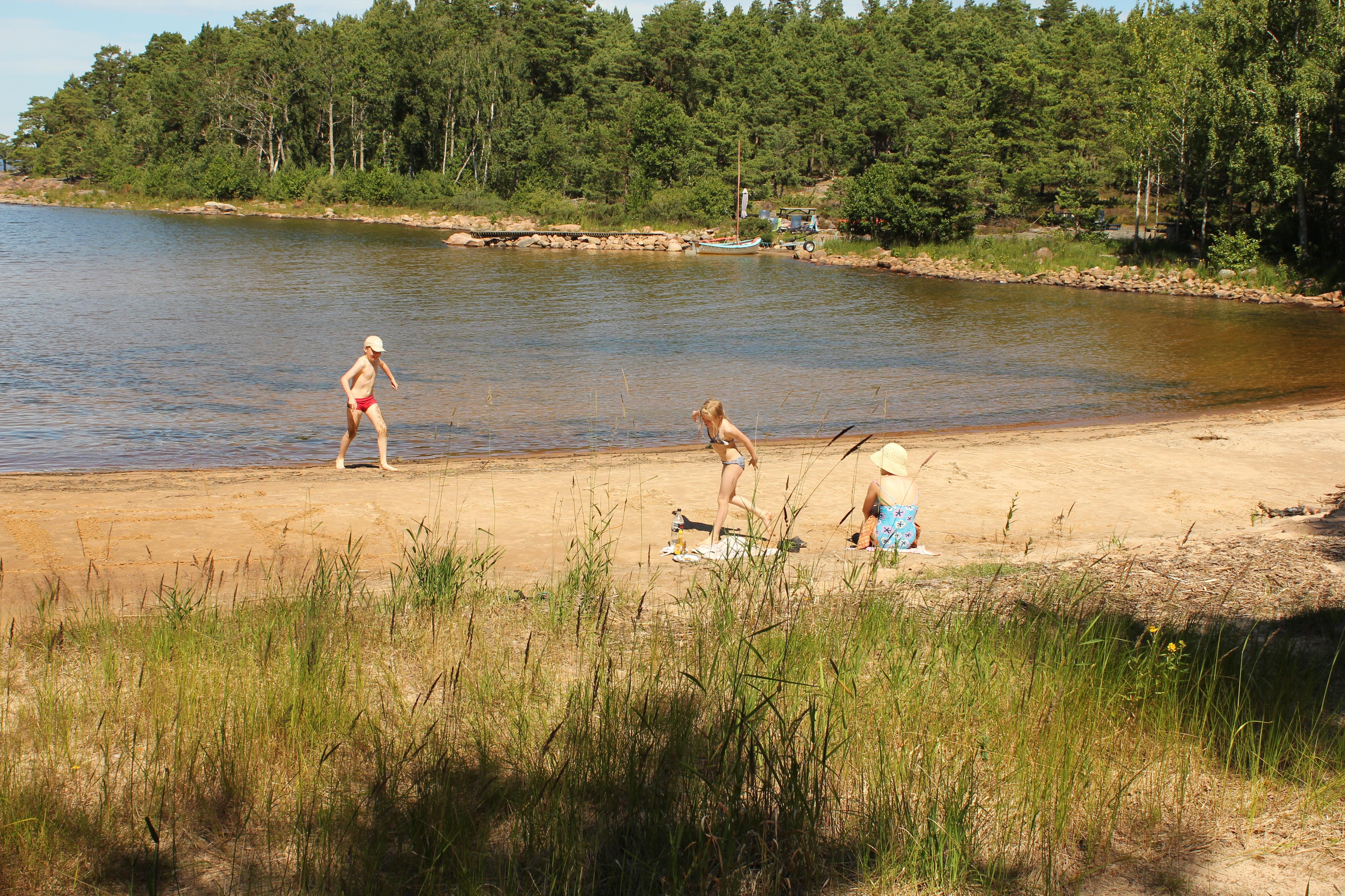 Strand in zweden