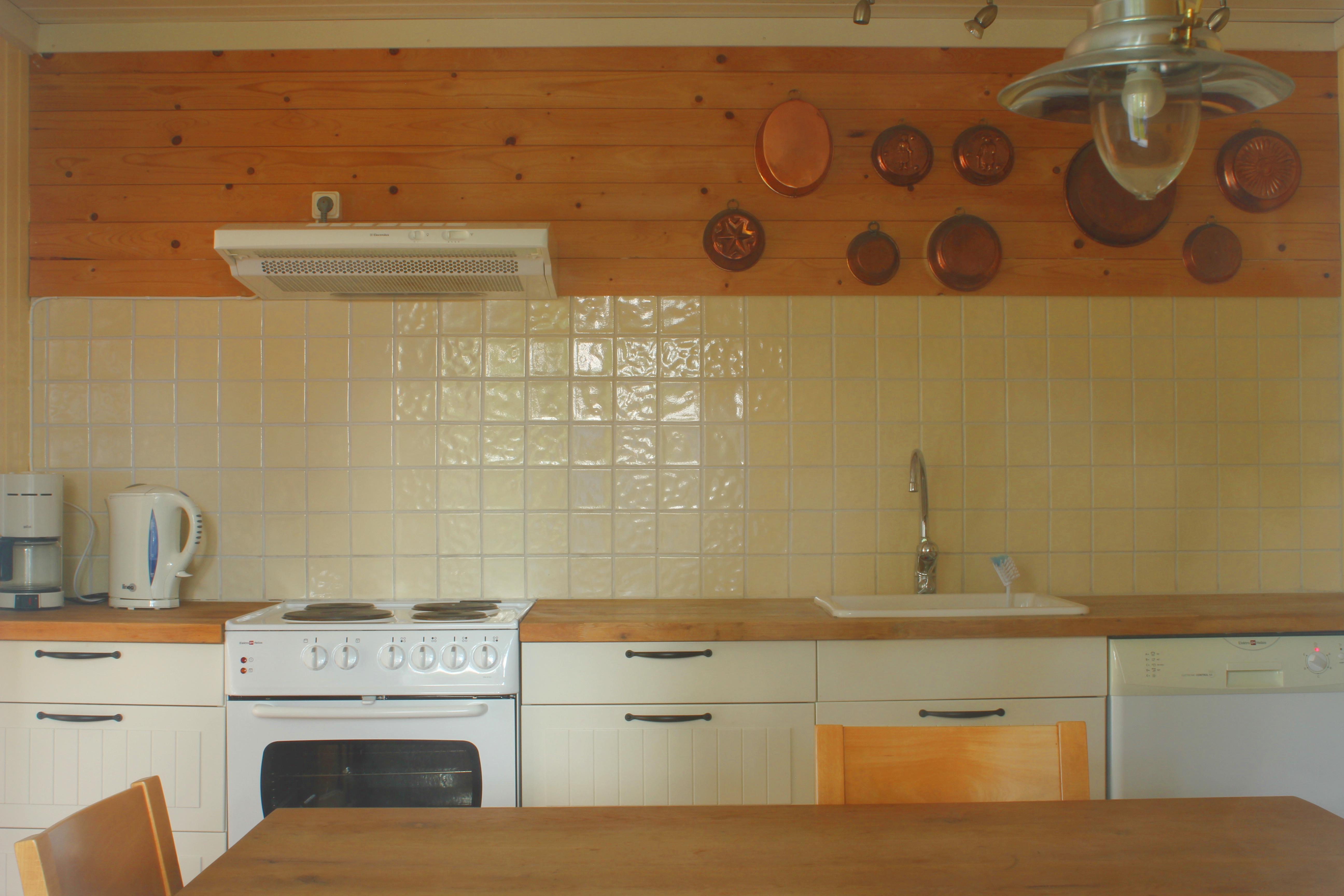 keuken vakantiehuis in zweden