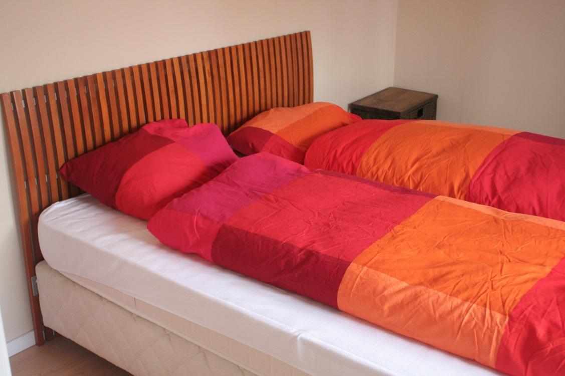 ouderslaapkamer vakantiehuis zweden