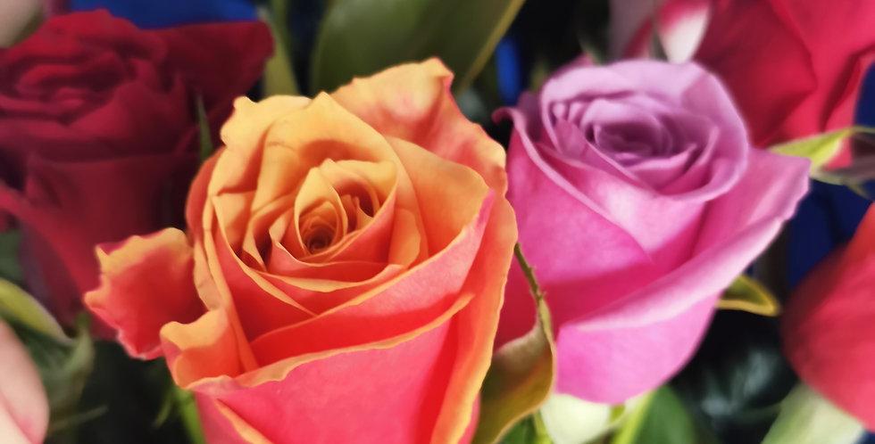 Bright Rose Bouquet