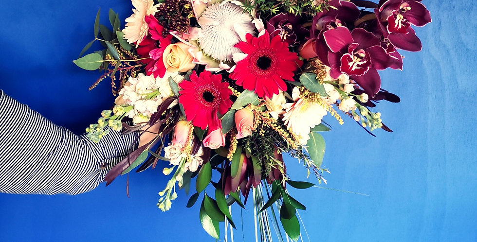 Bridal Bouquet - Trailing
