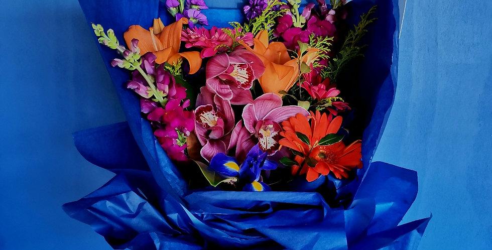 Seasonal Bouquet - BRIGHT & BOLD