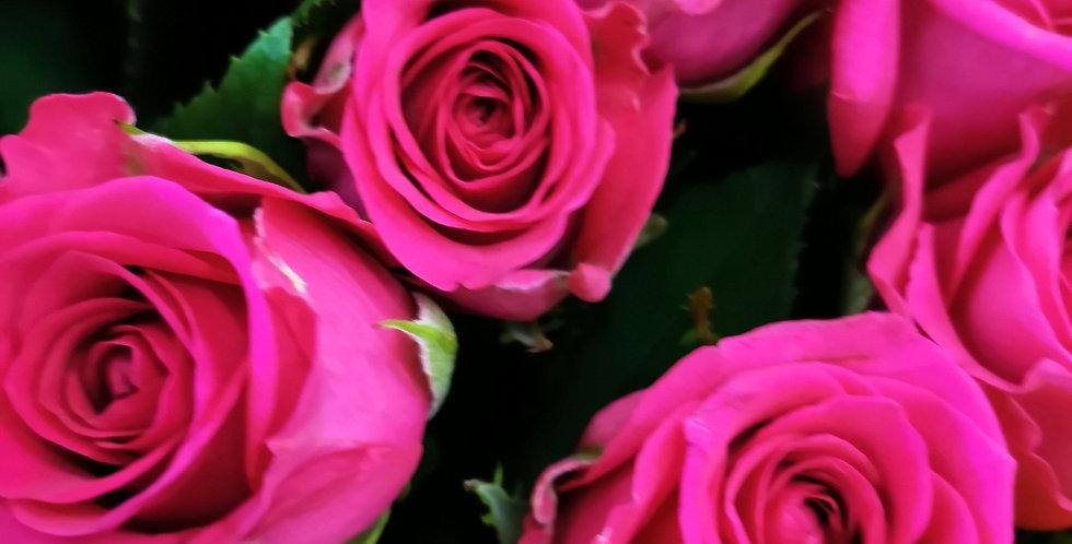Bright Mix Rose Bouquet