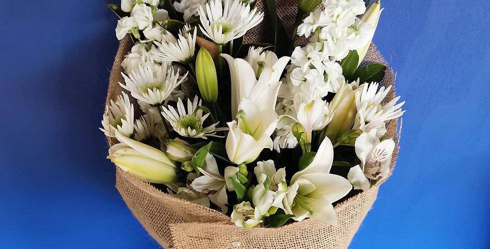 Miss Blossom - White & Green