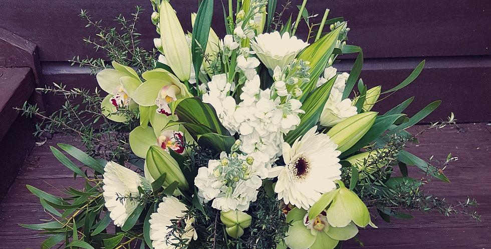 Seasonal Arrangement - PORCELAIN WHITE & CREAM