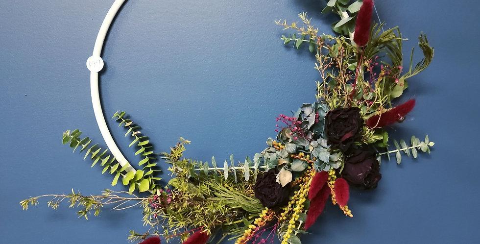 WORKSHOP - Dried Flower Hoop - Saturday 4th September