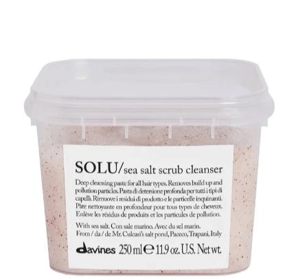 Solu Sea salt scalp scrub
