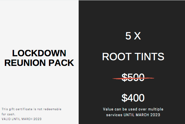 Lockdown Reunion Package