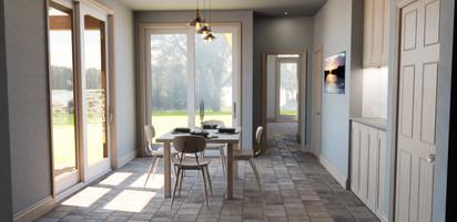 House Addition - Interior - Dining Room