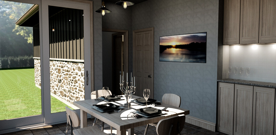 House Addition - Interior - Dining Room