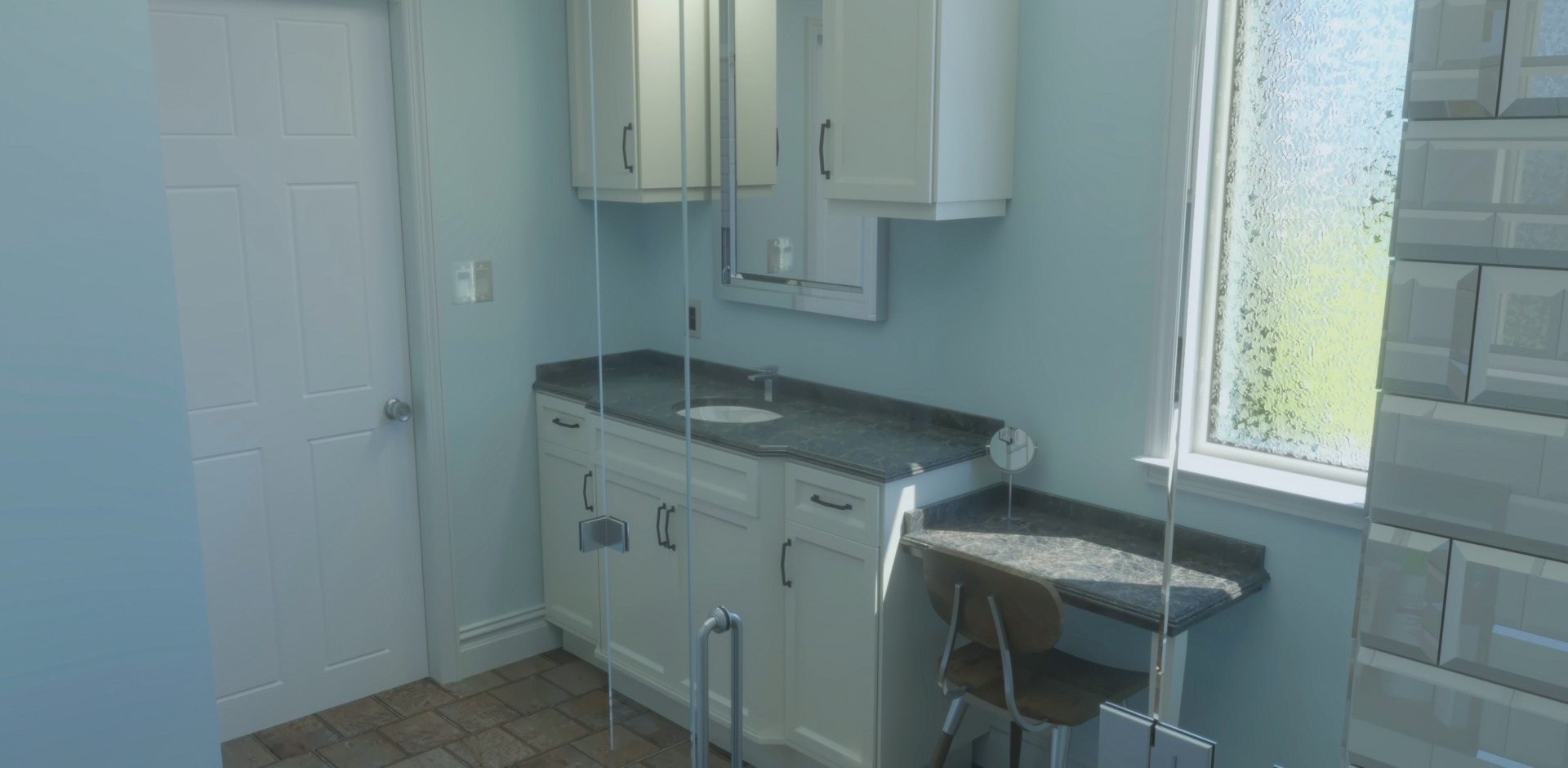 House Addition - Interior - Bath Room