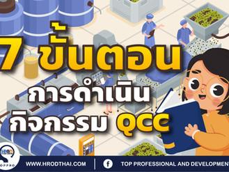 7 ขั้นตอน การดำเนินกิจกรรม QCC