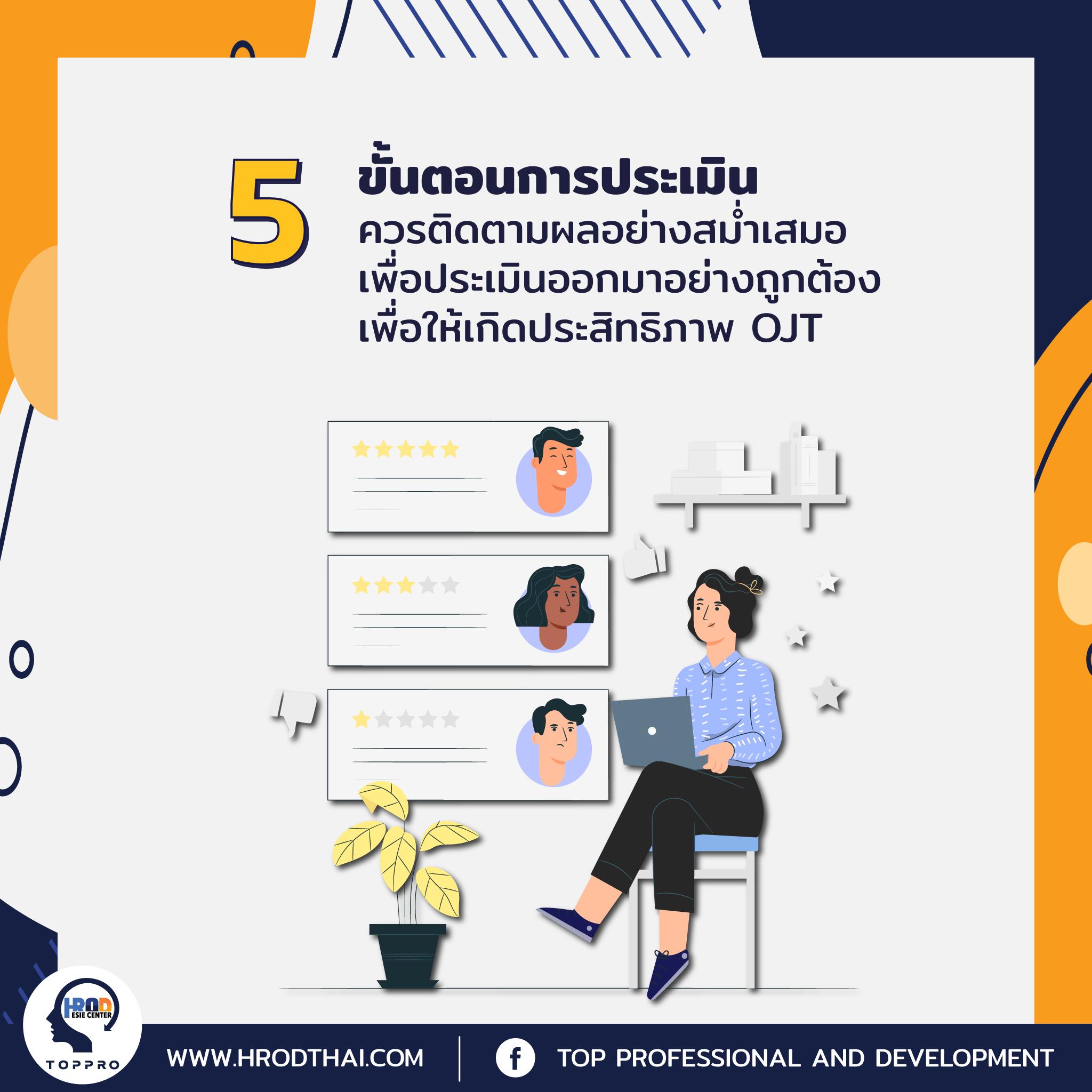 เทคนิคการสอนงาน On the job training-6