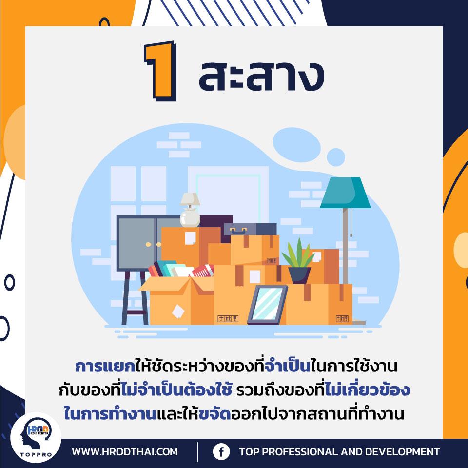 พื้นฐาน 5 ส กับการพัฒนาองค์กร-2