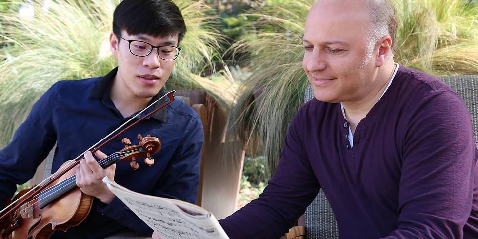 Moment Musical - Violin & Piano Recital in Mountain View