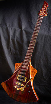 Model Rockeuse Wilgenbus guitars Luthier Réunion