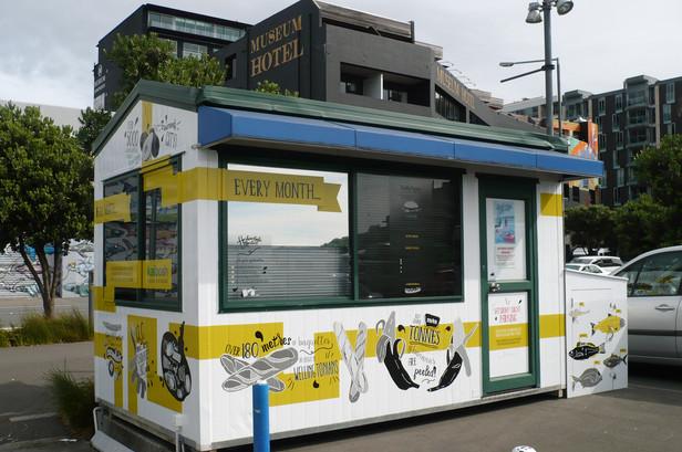 Harbourside Markets kiosk