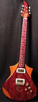 Model Goutte d'eau Wilgenbus guitars Luthier Réunion