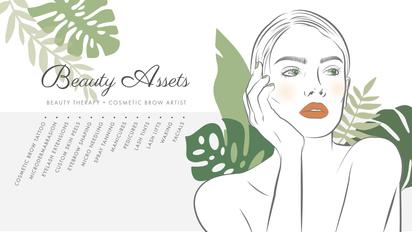 Beauty Assets Facebook Banner