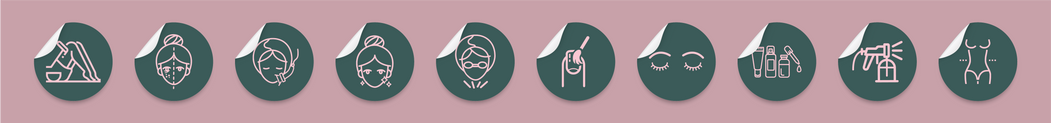 Loft Beauty Treatment Icons