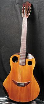 Clin d'oeil palissandre Guitares Classique  Wilgenbus Nicolas Luthier Inventeur la Reunion