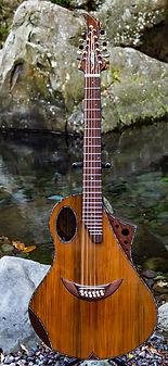 Saturne 12 cordes Wilgenbus guitars Luthier Réunion
