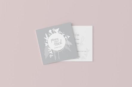 Penny Black Business Card design