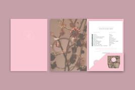 Loft Beauty Boutique Folder design