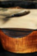 Le Repose bras Wilgenbus guitars Luthier Réunion