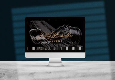 Kelly Michelle Makeup Website Design