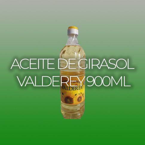 ACEITE DE GIRASOL VALDEREY 900ml