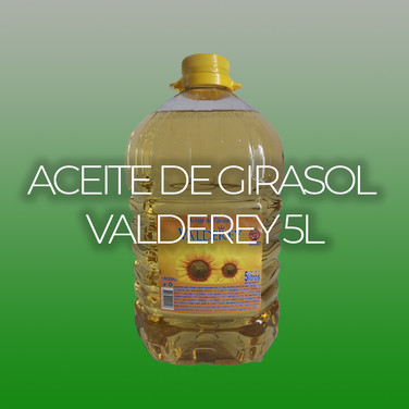 ACEITE DE GIRASOL VALDEREY 5L