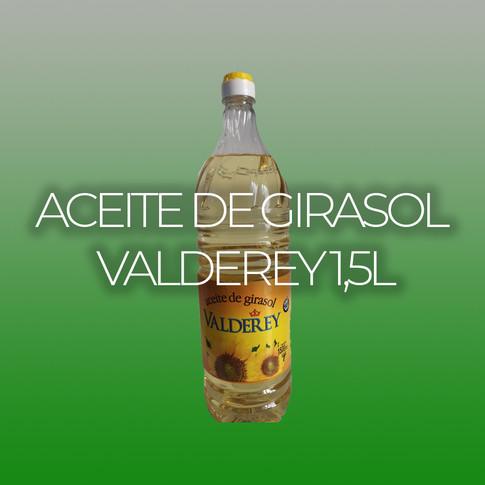 ACEITE DE GIRASOL VALDEREY 1,5L