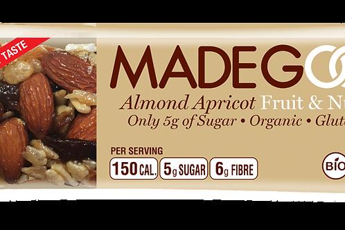Almond Apricot Paleo Fruit & Nut Bar