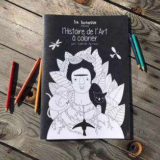 Coloriage A4 Histoire de l'Art