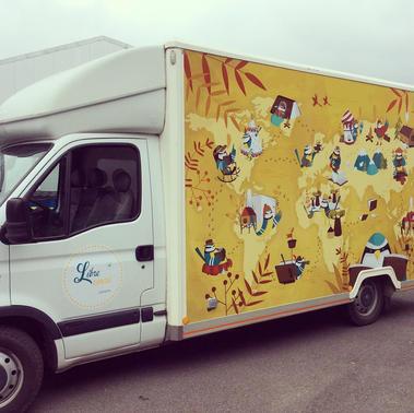 """Camion """"Libre Cours"""""""