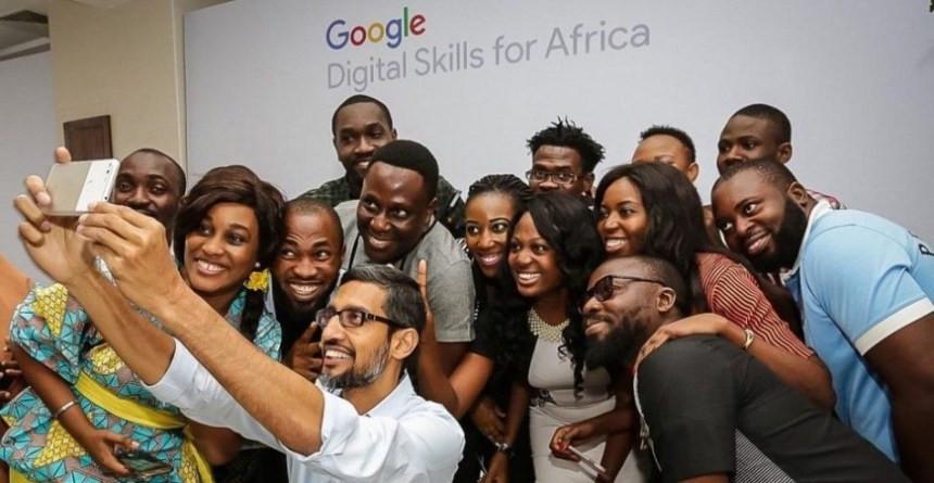Google CEO Sundar Pichai's visit in Lagos 2017. Photo – Forbes