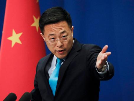US military accused by Chinese spokesman of bringing Coronavirus to China.